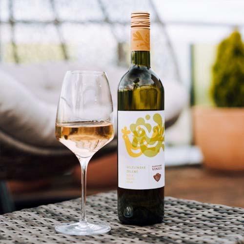 Veltlínske zelené - Slovenské vinice