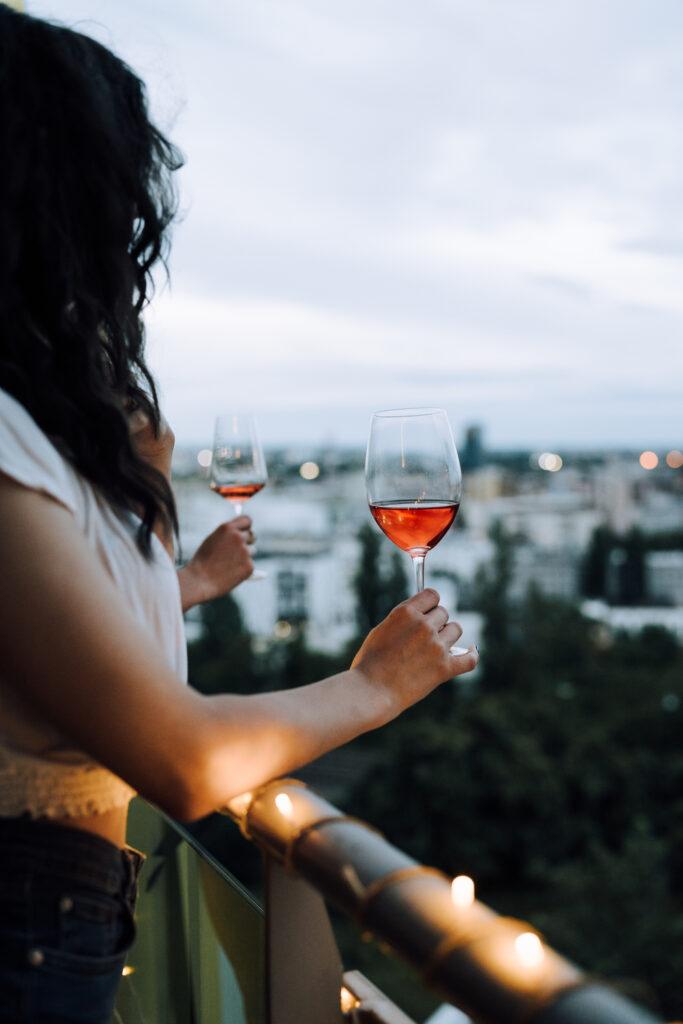Slovenské vinice, Cabernet sauvignon rosé, ružové suché víno