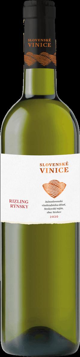 Slovenské Vinice, rizling rýnsky, víno ručný zber