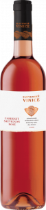 Slovenské vinice, Cabernet sauvignon rosé, ružové polosuché víno